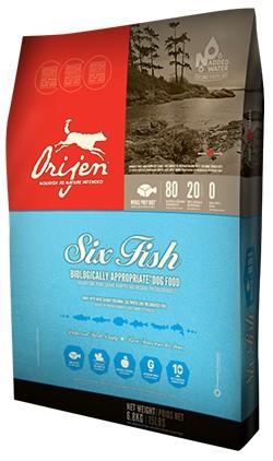 ORIJEN 6 Fish Dog (11,4 kg)