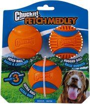 CHUCKIT Fetch Medley Pakk 3 (M)