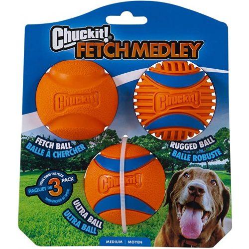 CHUCKIT-Fetch-Medley-3-Labda-Szett-M