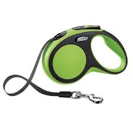FLEXI Comfort Szalagos Póráz Zöld (S)