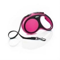 FLEXI Comfort Szalagos Póráz Pink (S)