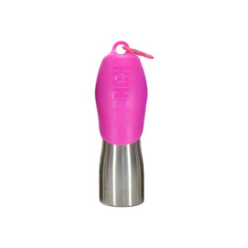 KONG H2O Rozsdamentes Acél Utazó Itató Pink (700 ml)