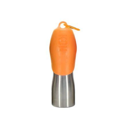 KONG H2O Rozsdamentes Acél Utazó Itató Narancs (700 ml)