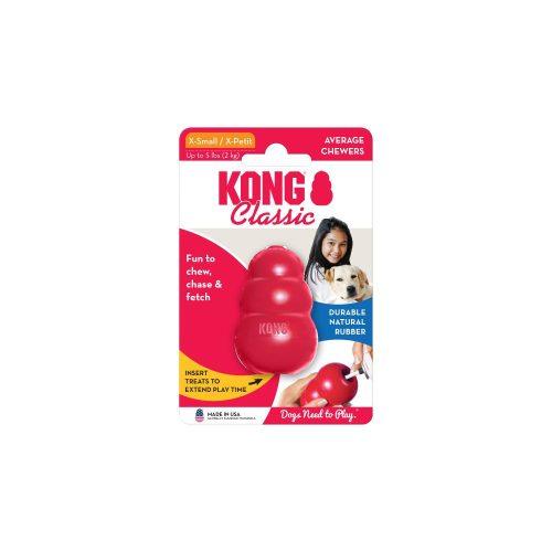 KONG Classic Harang Piros (XS)