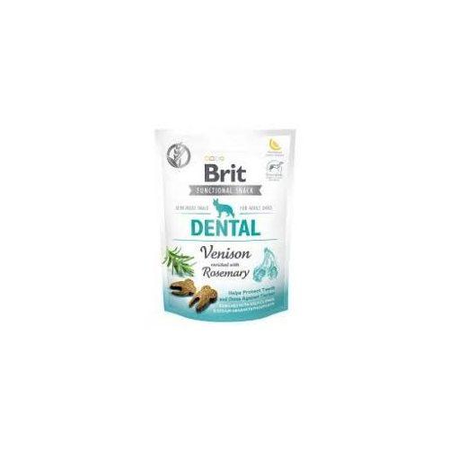 BRIT-Care-Snack-Dog-Functional-Dental-Venison-150-g