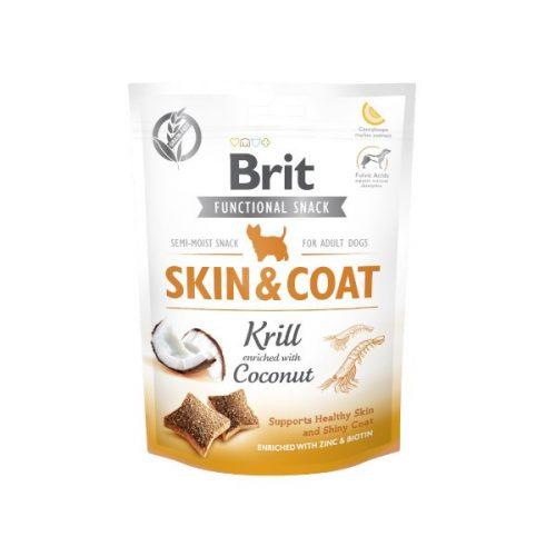 BRIT-Care-Snack-Dog-Functional-Skin-Coat-Krill-150-g