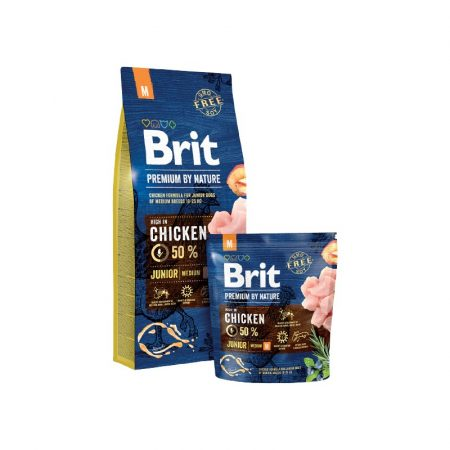 BRIT Premium Junior Medium Breed (15 kg)