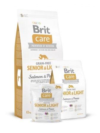 Brit Care Grain-free Senior & Light Salmon & Potato (12 kg)