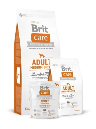 BRIT Care Hypo-Allergenic Adult Medium Breed Lamb & Rice (12 kg)