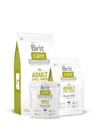 BRIT Care Hypo-Allergenic Adult Small Breed Lamb & Rice (7,5 kg)