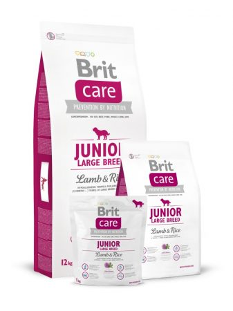 BRIT Care Hypo-Allergenic Junior Large Breed Lamb & Rice (12 kg)