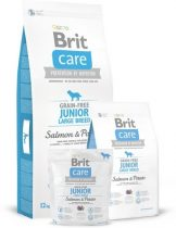 BRIT CARE Grain-Free Junior Large Breed Salmon & Potato (12 kg)