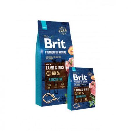 BRIT Premium Sensitive Lamb & Rice (15 kg)