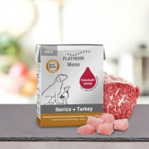 PLATINUM Menu Ibériai sertés + Pulyka felnőtt nedvestáp (375 g)