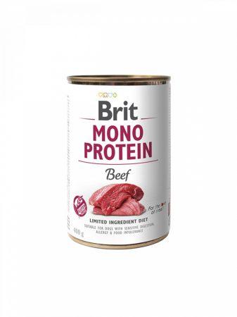BRIT Mono Protein Marha Konzerv (400 g)