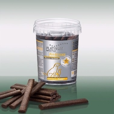 PLATINUM Fit-Sticks Jutalomfalat  Csirke+Nyúl