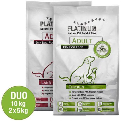 PLATINUM-Adult-Duo-Csirke,-Barany-10-kg
