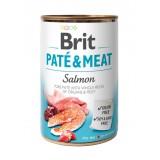 BRIT Paté & Meat Lazac Konzerv (400 g)