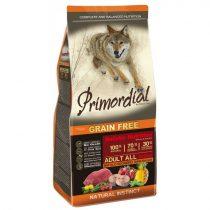 PRIMORDIAL Grain-Free Adult Bivaly - Makréla (12 kg)