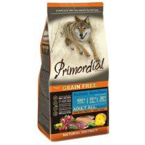 PRIMORDIAL Grain-Free Adult Kacsa - Pisztráng (12 kg)