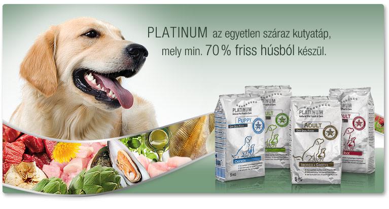 Platinum száraz kutyatápok